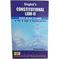 Constitutional Law-II (Based On New Syllabus) [Unknown Binding]