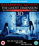 Paranormal Activity: The Ghost Dimension (Blu-ray 3D + Blu-ray) [2015]