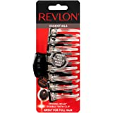 Revlon Essentials Strong Hold Jumbo Hair Clip, Colors May Vary