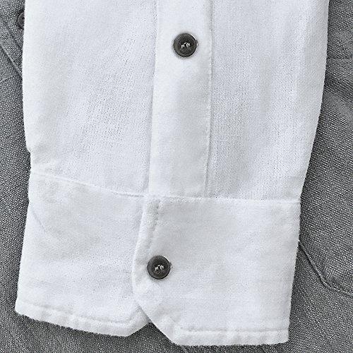 Stehkragenhemd - Irisches Stehkragenhemd - SC 506 PETROL Petrol