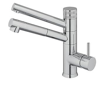 3-vie-rubinetto CUCINA con doccetta estraibile IDEALE per tutti i ...