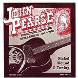 John Pearse Set of Strings for Dobro Guitar in Nickel