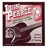 John Pearse 3000 Jeu de cordes pour Guitare Résophonique Nickel