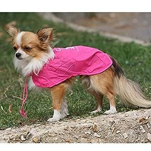 Imperméable de poche Fuss-Dog pour chien Rose
