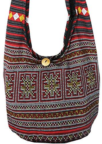rosina-s-hippie-boho-new-elephant-crossbody-bohemian-gypsy-sling-shoulder-bag-small-size-hmong-black