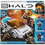 Halo - Coche de policía NMPD, juego de construcción (Mega Brands 97452)