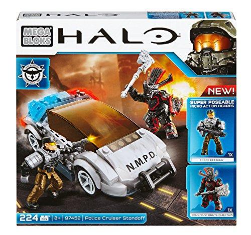 Mattel Mega Bloks CYY42 Halo - NMPD Police Cruiser (Mega Halo-waffen Blocks)
