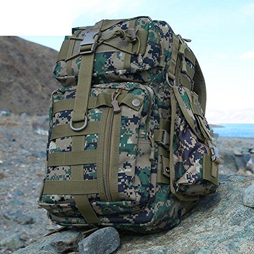 Armee-Fan Rucksack/Computer-Rucksack/Outdoor-taktische Tasche/Multifunktionale Camo-Kombipaket-6 35L 3
