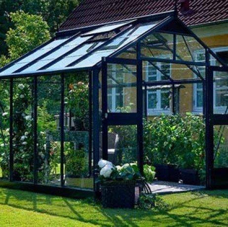 Serre en verre horticole Premium 8,8m² Premium_glass8_Anthra1