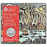 Great Fire of London 2016 UK £2 Brilliant Uncirculated Coin