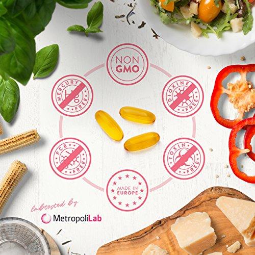 Omega 3 Fischöl [ 2000mg ] von Aava Labs – 120 Softgel Kapseln - 5