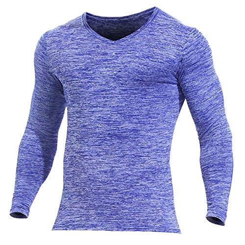 Alivebody Herren Longsleeve Kapuze Hoodie Muskelaufbautraining Sportshirt Heather Purple without Hood