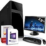 Komplett PC Set Office/Multimedia inkl. Windows 10 Pro 64-Bit! - Dual-Core Intel Celeron J1800 2X 2,6GHz Turbo - Intel HD Graphics - 19 Zoll TFT Monitor - 4GB DDR3 RAM - 500GB HDD - 24-Fach DVD Bren