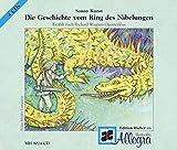 Wagners Geschichte vom Ring des Nibelungen: erzählt von Sony Kunst, Sprecher: Manfred und Franziska Ball. 4 CDs -