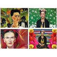 Set 4 Tovagliette Frida Kahlo
