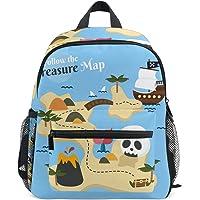 ISAORA Cute Kids Backpack, Mini Sac d'école, Kindergarten préscolaire Toddler Bookbag, Motif Animal de Bande dessinée…