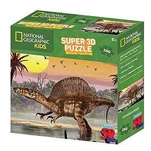 National Geographic NG10809 - Puzle de 150 Piezas, diseño de spinosaurio