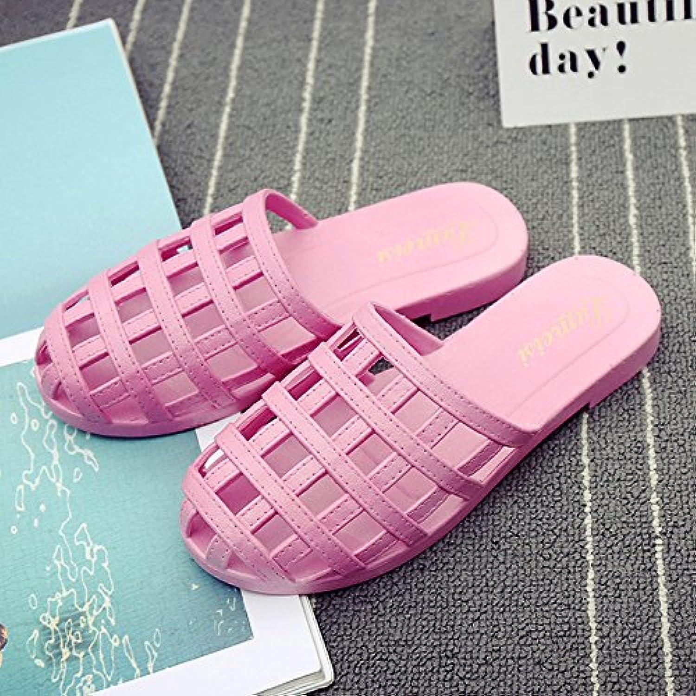 DogHaccd Zapatillas,La Sra. fresco verano zapatillas elegante casa de estancia con una cubierta de plástico antideslizante...