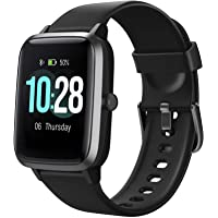 Letsfit Smart Watch with Heart Rate Monitor, 1.3 Touch Screen Fitness Trackers, Activity Tracker,…