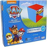 Preisvergleich für Unbekannt Fun House 712533 Paw Patrol Nachttisch, mit Schublade, für Kinder, MDF-Holz/Vlies, Blau, 33x 30x 36cm