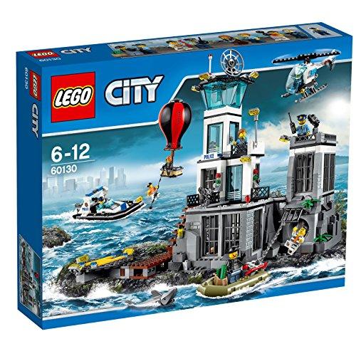 LEGO City 60130 - Polizeiquartier auf der Gefängnisinsel Bausteinspielzeug (Lego City Coast Guard)