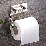 Ruicer Toilettenpapierrollenhalter Wand ohne Bohren Edelstahl Selbstklebend