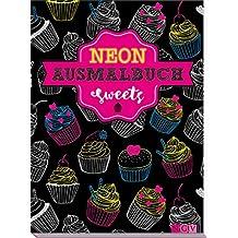 Sweets Neon-Ausmalbuch