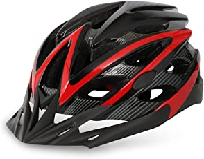 Vector X Cycling/Skating/Skateboarding Helmet H-40 (Black-Red)