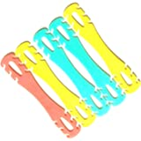 Mask clip for ear comfort and easy wearing of muzzle Multiple colors - 5 pieces
