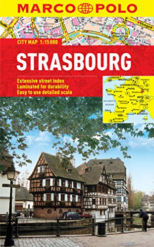 Strasbourg Marco Polo Laminated City Map (Marco Polo City Maps) por Marco Polo
