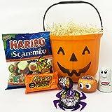 Halloween Pumpkin Trick or Treat Hamper Bucket Including...