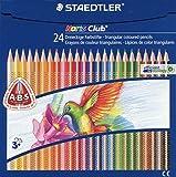 Staedtler 127 NC24 - Noris Club Buntstifte, 24 brillanten Farben