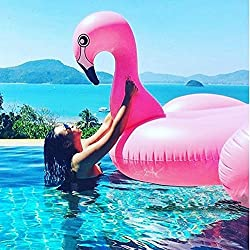 Giant Inflatable Flamingo Pool Float Swimming Toy Sky Tears®