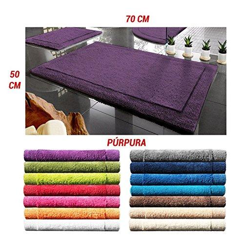 ADP Home - Alfombra premium new york (de 50x70cm), púrpura