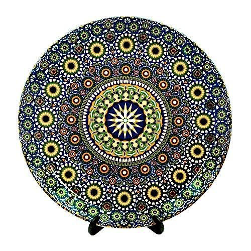 Kolorobia Moroccan Inspiration Decorative Plate 7.5 inches