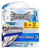 Wilkinson Sword Hydro 3 Rasierklingen (8+2 Stück)