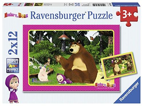 Ravensburger 07585 Masha und der Bär Spaß im Wald