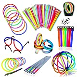 Glow Stick Party Pack Super Bright, Long...