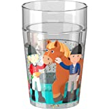HABA Glittery Tumbler Little Friends Pony Farm for Kids   Cutlery Item