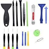Prime Deals 17 in 1 Professional Cell Phone Mobile Screwdriver Set Repair Opening Tool Kit for Various Smartphones and Tablet