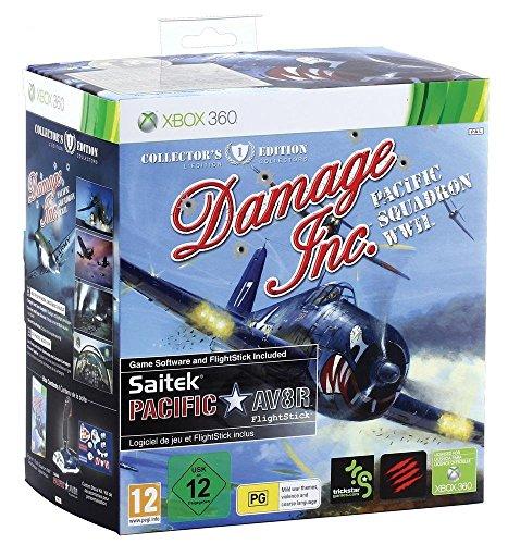 Damage Inc. - Pacific Squadron WWII (Spiel + Joystick)