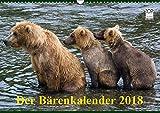 Der Bärenkalender 2018 (Wandkalender 2018 DIN A3 quer): Grizzlybären - ein Fotoshooting der besonderen Art (Monatskalender, 14 Seiten ) (CALVENDO Tiere) [Kalender] [Apr 01, 2017] Steinwald, Max - Max Steinwald