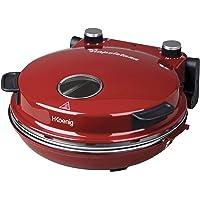 H.Koenig NAPL350 Four à Pizza électrique Professionnel Portable de table Multifonction Tartes et Quiches, Grand Plateau…