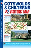 Cotswold & Chilterns Visitors Map (A-Z Visitors Map)
