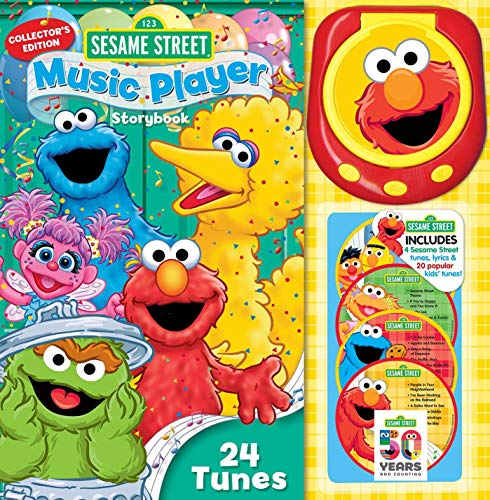 Sesame Street Music Player Storybook: Collector's Edition 5 Sesame Street Cookie