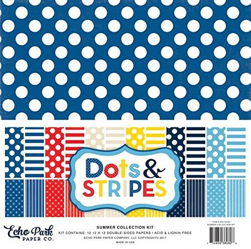 Preisvergleich Produktbild Echo Park Summer Collection Kit Dots & Stripes /Punkte und Streifen