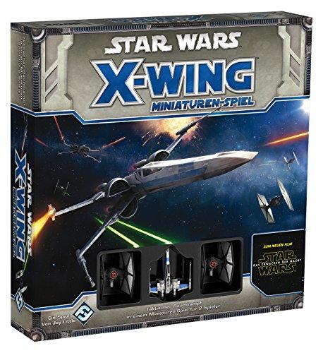 Asmodee  HEI0450 - Star Wars X-Wing Das Erwachen der Macht, Grundspiel (Tabletop-zug-set)
