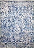 Nain Trading Mahra 420x303 Orientteppich Teppich Dunkelgrau/Blau Handgeknüpft Pakistan Design Teppich Modern