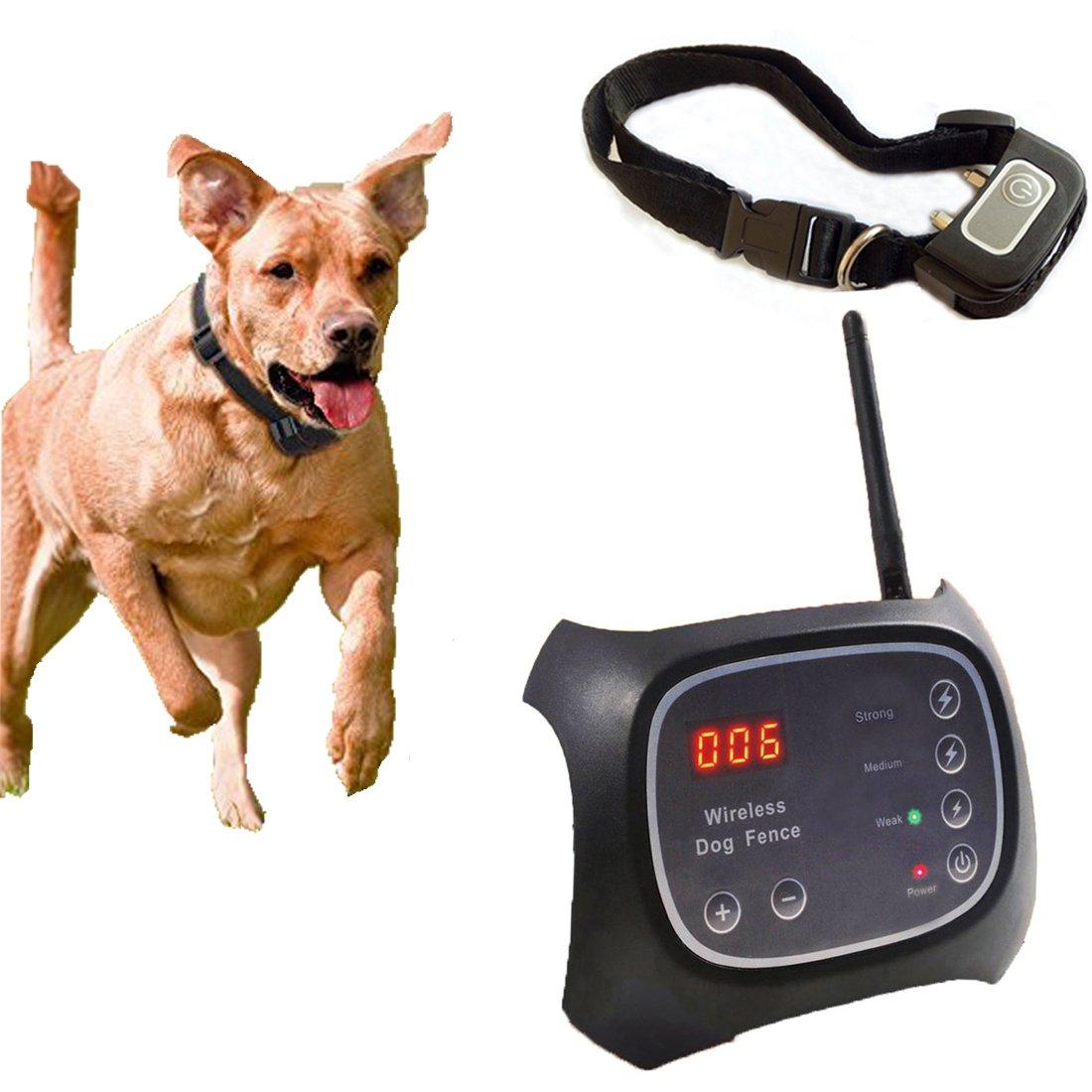 [2018 nuova versione] WiFi radio cane recinzione/invisibile segnale cane recinzione/area di copertur
