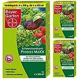 3 x (4x250g) Bayer Schneckenkorn Protect MaXX + Gardopia Zeckenzange mit Lupe